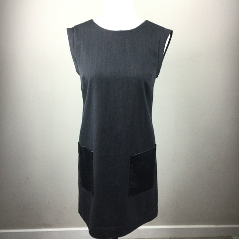 J.Crew wool blend shift dress