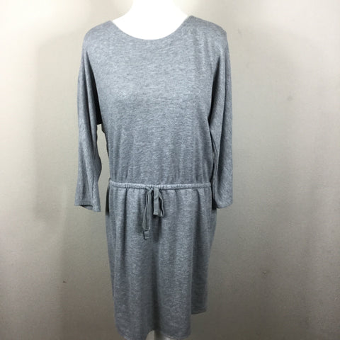 Old Navy Gray Sweatshirt Dress