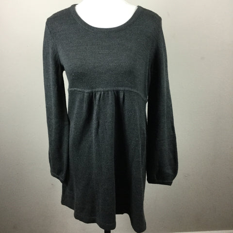 Style & Co gray sweater dress