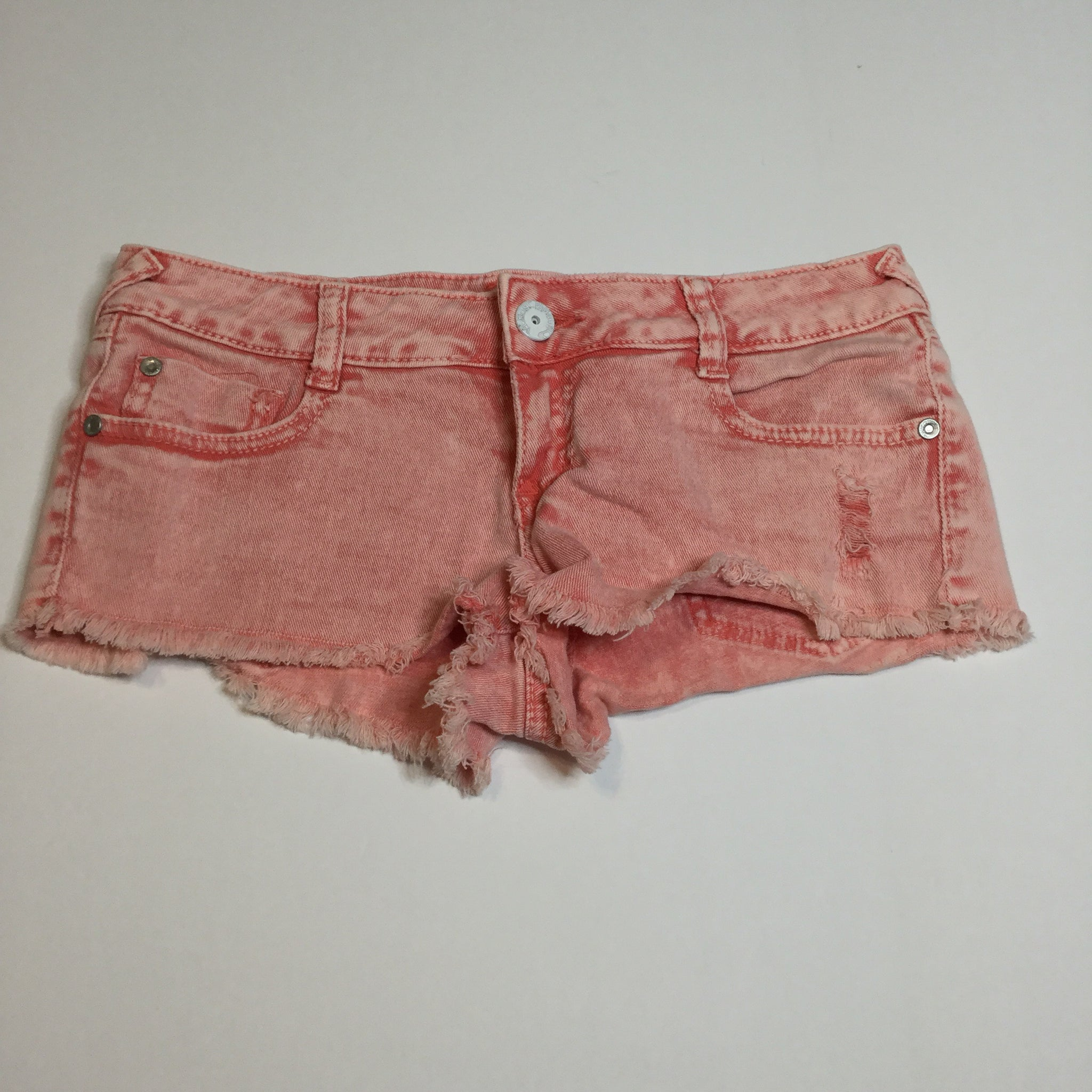 Almost Famous Pink Cut Off Shorts
