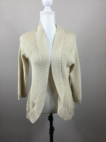 DELiA*S open knit shrug sweater