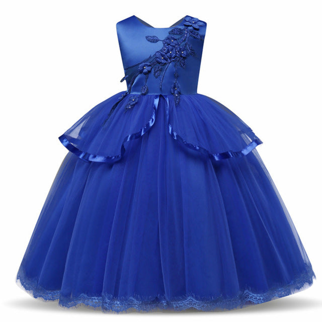 Elegant New Year Princess Dress