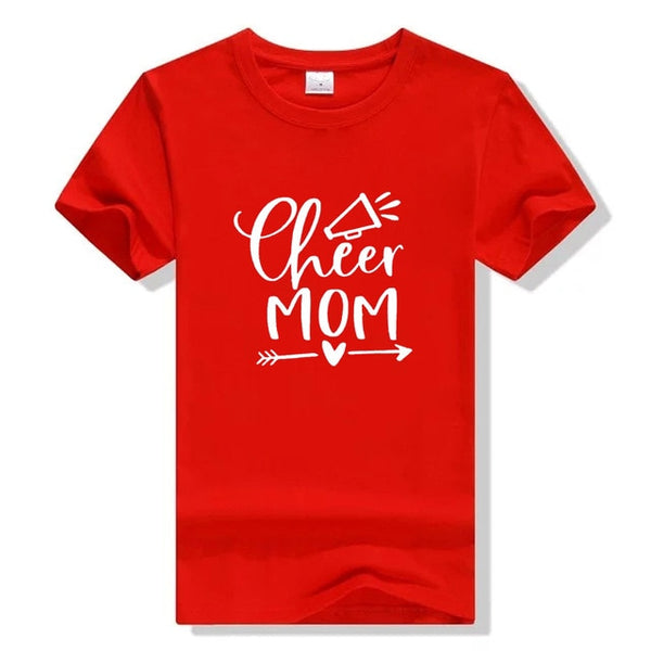 Cheer Mom Vibes Squad T-Shirt