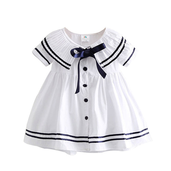 Summer baby bow dress