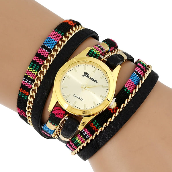 women  bracelet wristwatch