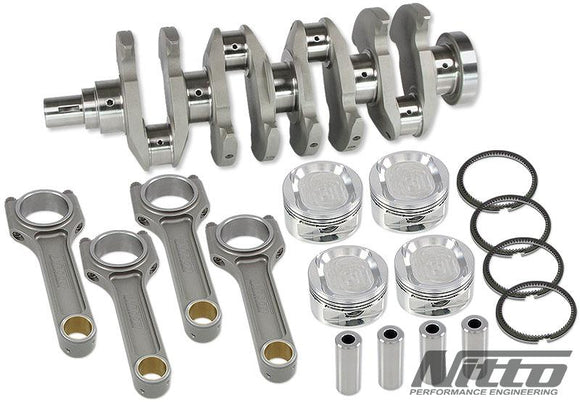Nitto 4G63 2.3L Stroker Kit H-Beam Rods