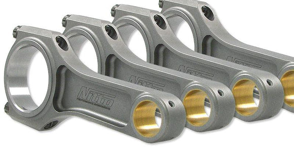 Nitto SR20 I-Beam Conrods (USE WIDER GTi-R BEARINGS)
