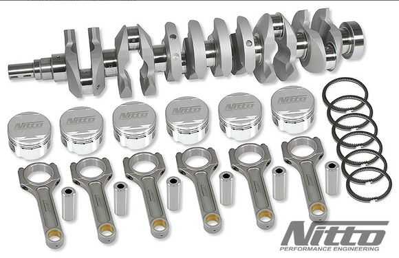 Nitto BARRA 3.8L DE-STROKER KIT (I-BEAM RODS / 92.5MM BORE)
