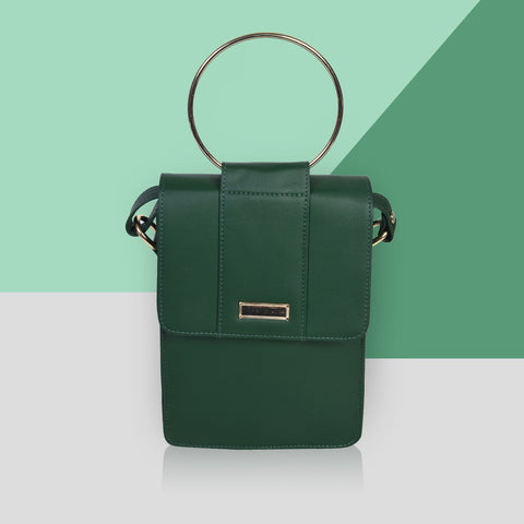 Classico Cross-Body / BOTTLE GREEN