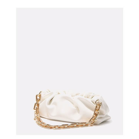 CLOUD CHAIN BAG / WHITE