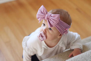 Large Bow Headwrap EarBand for Cochlear Implants