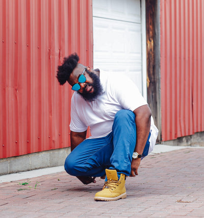 XL Tribe vibes: our interview with the US based Big & Tall style blogger