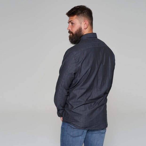 Campione Blackstone Pattern Long Sleeve Shirt - side view