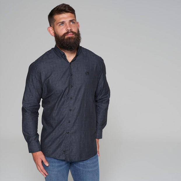 Campione Blackstone Pattern Long Sleeve Shirt - front view