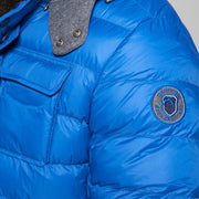 Campione Everest Sapphire Blue Jacket - back view
