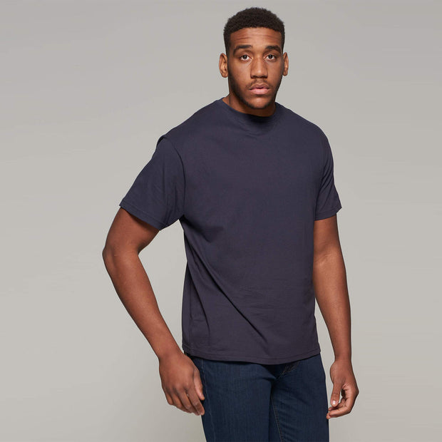 Fortmens model wearing Round neck - T-shirt - front view
