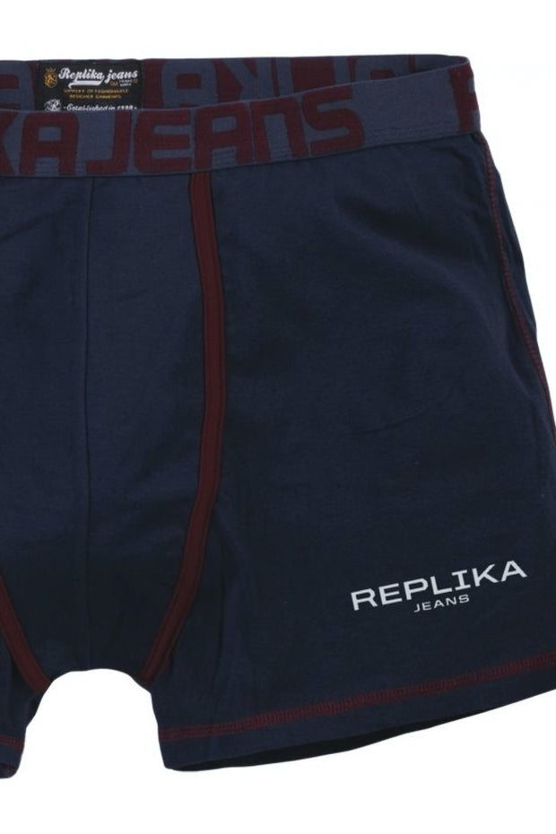 REPLIKA Briefs in Navy Blue - close up view