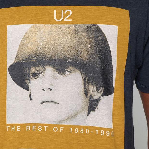 Fortmens Replika U2 Tribute T-Shirt - close up view