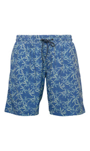 North 56°4 Blue Sea Swim Shorts front view