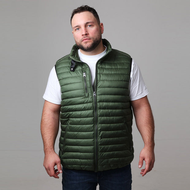 North 56°4 - Green Mountain Gilet - back view