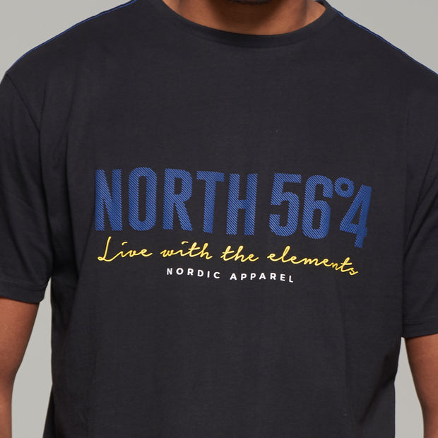 Black North56 T-Shirt - Full view