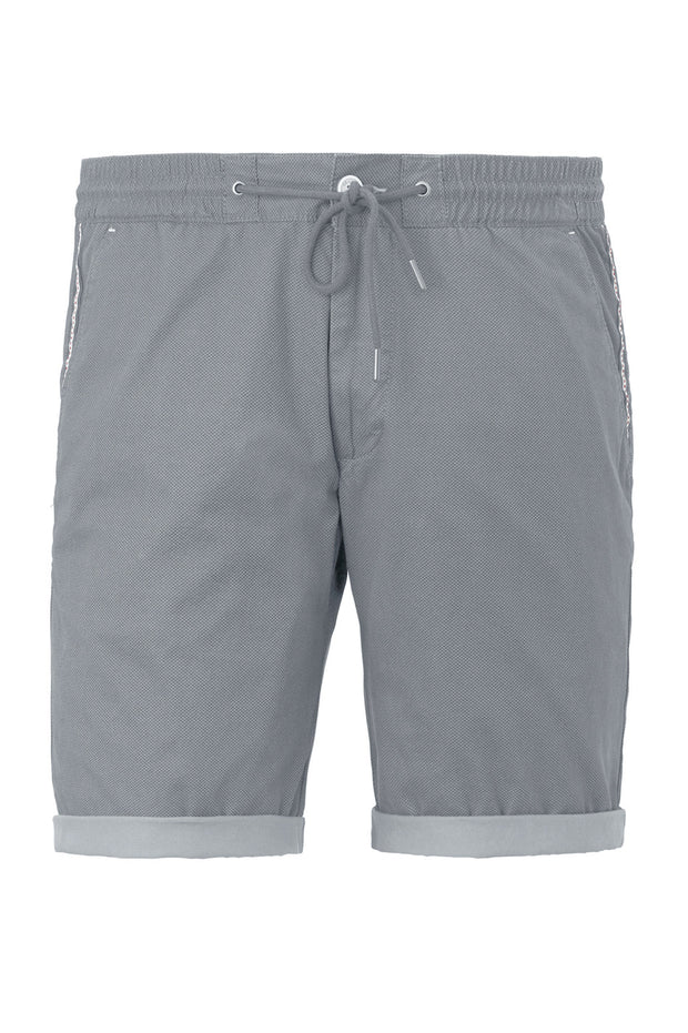 Redpoint - Elastic Waist Short in Grey - product front view