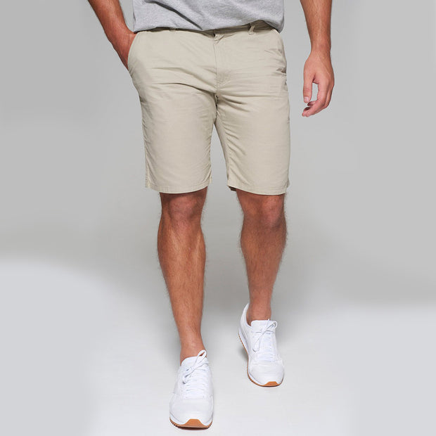Redpoint - Parkland Chino Shorts in Beige - front view