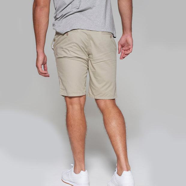 Redpoint - Parkland Chino Shorts in Beige - back view