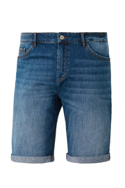Redpoint Dark Blue Denim Sherbrook Shorts - front view product shot