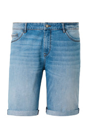 Redpoint Light Blue Denim Sherbrook Shorts - front view product shot