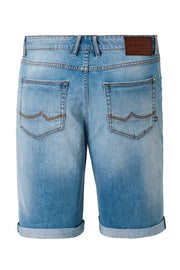 Redpoint Light Blue Denim Sherbrook Shorts - back view product shot