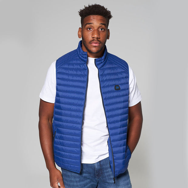 Willis Classic Quilted - Gilet - in Sapphire Blue - Front view