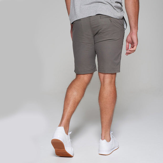 Big men's Redpoint khaki chino shorts - side view
