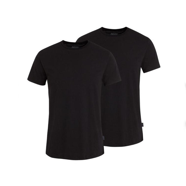 2 Pack - Classic T-Shirt in Black front view