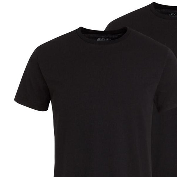 2 Pack - Classic T-Shirt in Black close up
