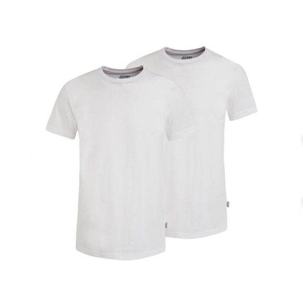 2 Pack - Classic T-Shirt in white front view