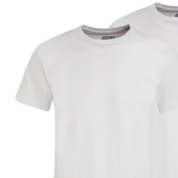 2 Pack - Classic T-Shirt in white close up