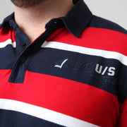 Kitaro Rugby Polo - Long Sleeve close up view