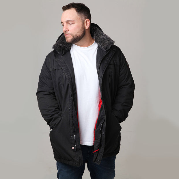 Redpoint Joshua Jacket in Black - front view