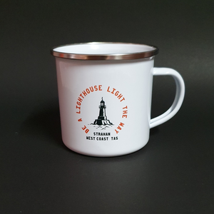 Be a Lighthouse Camping Mug