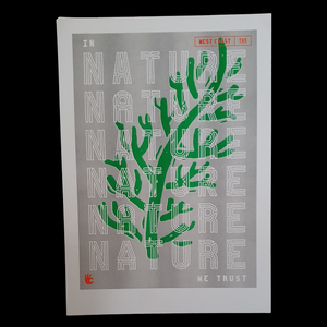 Riso Print - In Nature We Trust