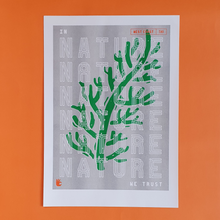 Load image into Gallery viewer, Riso Print - In Nature We Trust