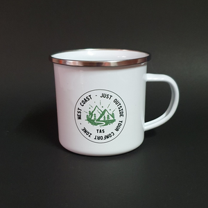 Just Outside Your Comfort Zone Camping Mug