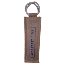 Load image into Gallery viewer, Jute Bottle Carry Bag
