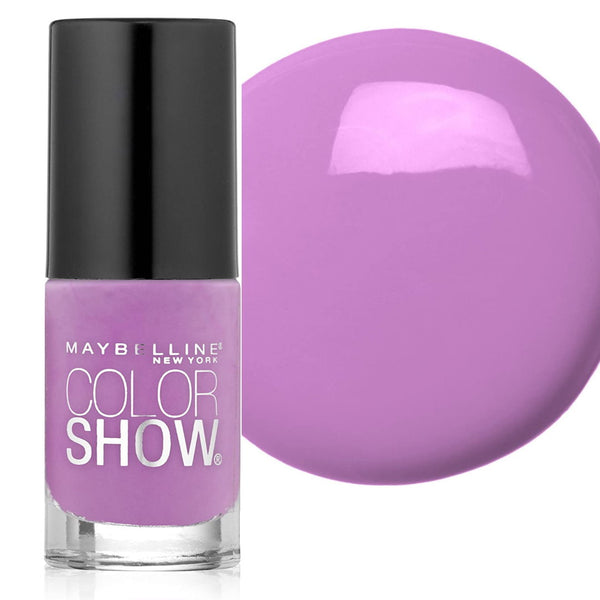 Maybelline Color Show Nail Polish - 165 Lust For Lilac