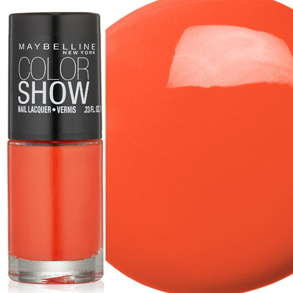Maybelline Color Show Nail Polish - 220 Orange Fix