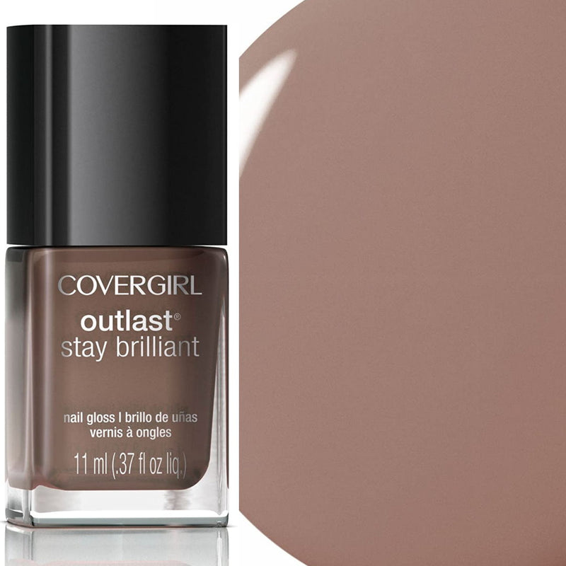Covergirl Outlast Stay Brilliant Gloss Nail Polish - 220 Toasted Almond
