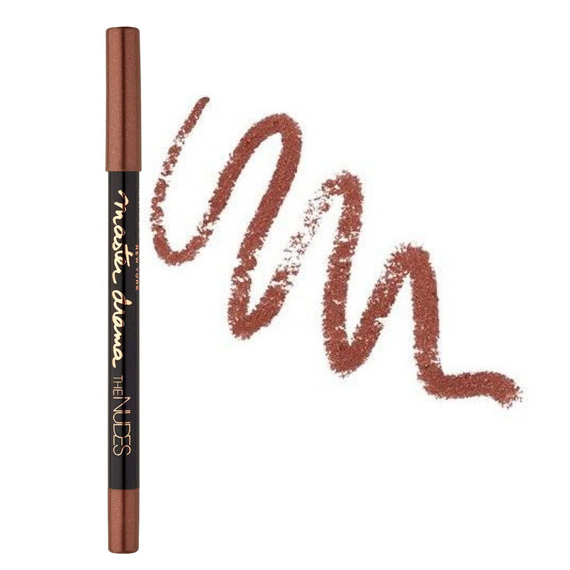 6x Maybelline Master Drama The Nudes Eyeliner 22 Brownie Glitz