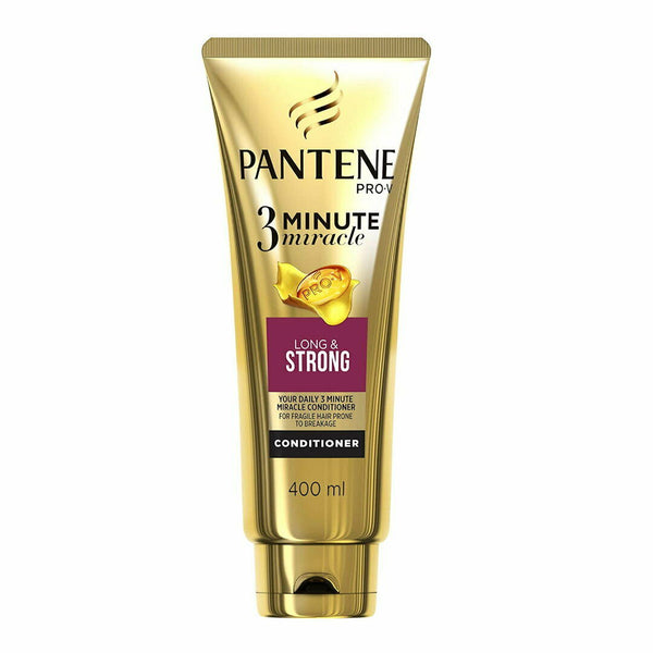 Pantene 3 Minute Miracle Long & Strong Conditioner 400mL