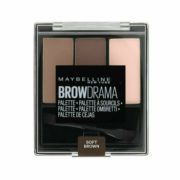 Maybelline Brow Drama Palette 03 SOFT BROWN - Eyebrows